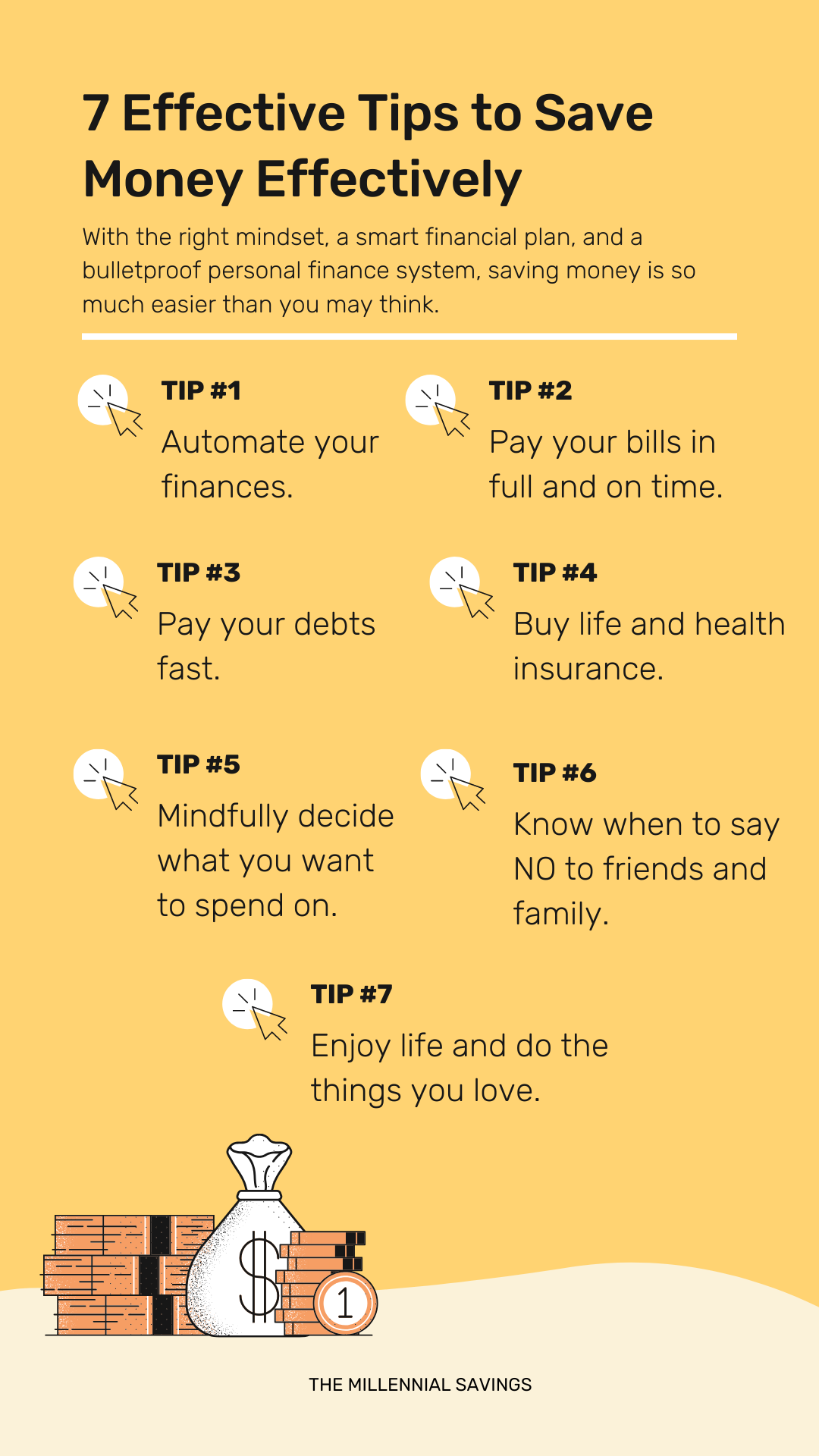 7 EFFECTIVE TIPS TO SAVE MONEY EFFECTIVELY